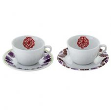 Richard Ginori Laveno Folkware Tea Cup and Saucer
